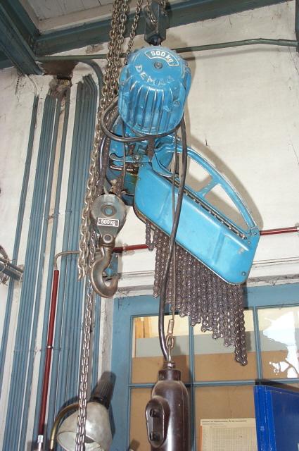 Elektrischer kettenzug gebraucht
