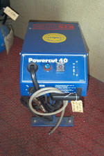 "plasma cutting machine ""Powercut 40"" [1]"